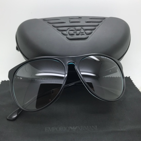831b03d033cc Emporio Armani Accessories | Ea9801 Black Wayfarer Sunglasses | Poshmark